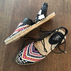 NWT Espadrilles by Belle by Sigerson Morrison NWT